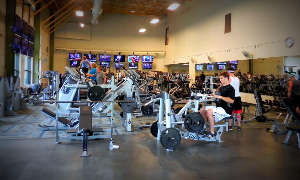 Fitness center shoreview community center