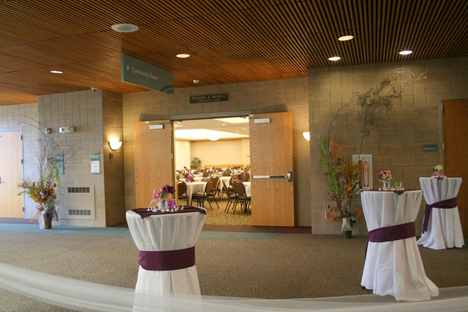 Wedell Community Room Foyer