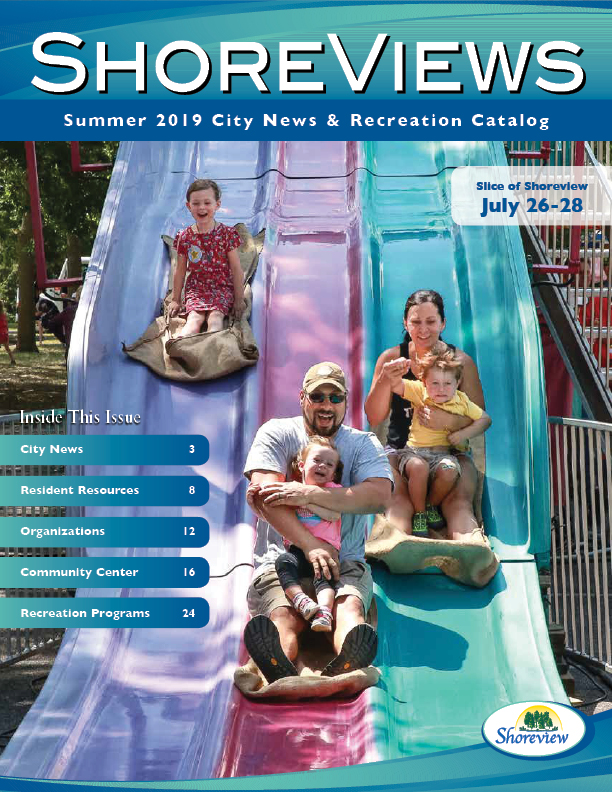front cover of the 2019 summer program catalog