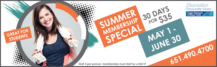 summer membership special 30 days for $35